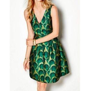 J Crew l Peacock Dress